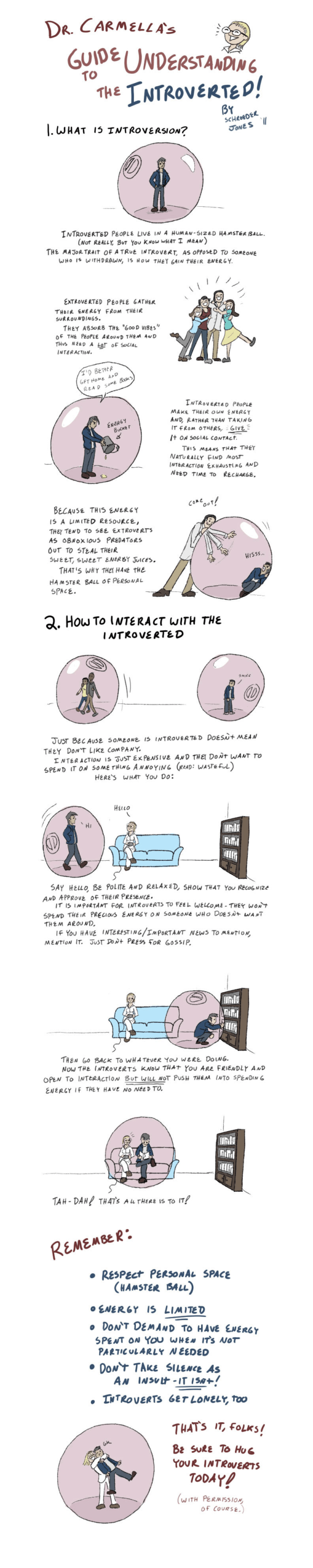 Your Guide To Interacting With An Introvert