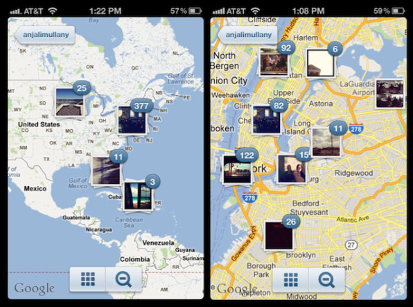 Instagram Homes In On Mapping With Version 3.0 on asia city map, thanksgiving map, napa wineries map, find me on map, geo location map, inforgraphic map, mobile map, pinboard map, san jose bike party map,