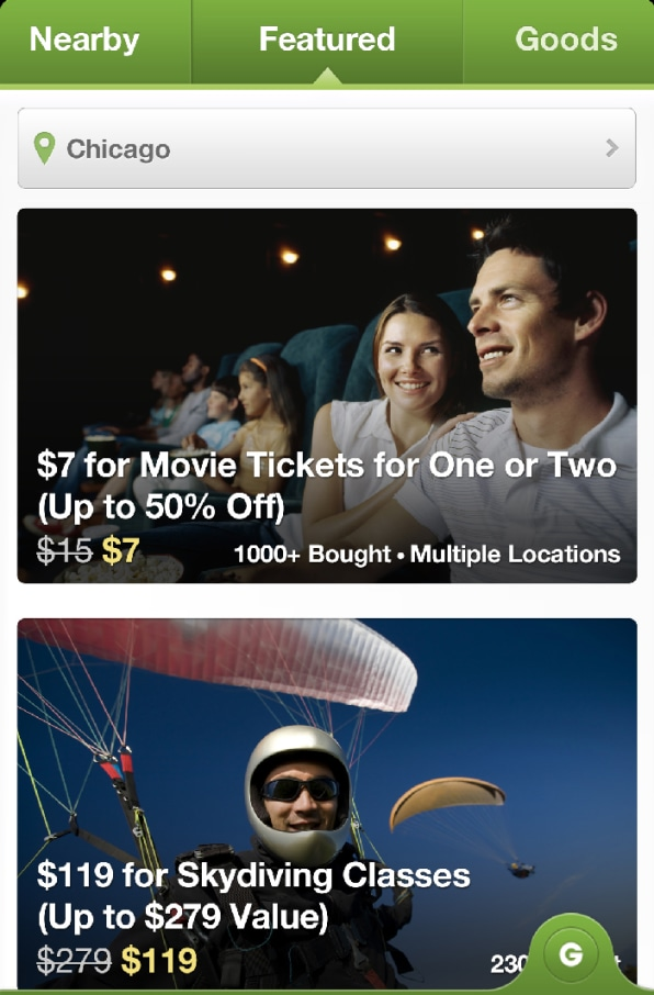 Groupon's New App Hints At A Change In Course