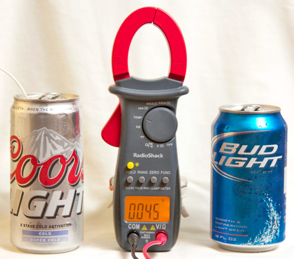 With My Lab Partner And Digital Thermometer At The Ready, I Bought A Coors  Light At The Corner Deli. For An Added Twist, To Test If It Really Is The  Coldest ...