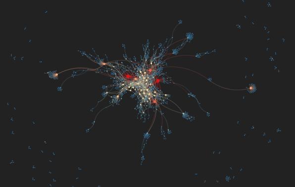 In Stunning Interactive, Reddit's Communities Get Mapped