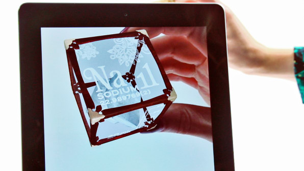 Daqris 4d cubes use augmented reality to teach kids the periodic tabl certainly its a novel approach to teaching kids the periodic table but as with any new whiz bang technology especially in the field of augmented reality urtaz Image collections