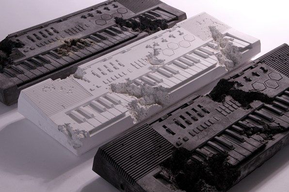 This Is What Pharrell's Casio Keyboard Would Look Like, If Discovered In 3013