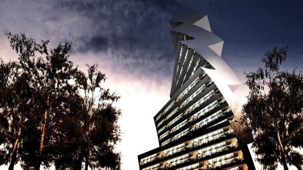 An Architectural Bolt Of Inspiration, Or Lightning Struck Down?