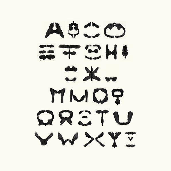What Do You See In This Rorschach Alphabet?