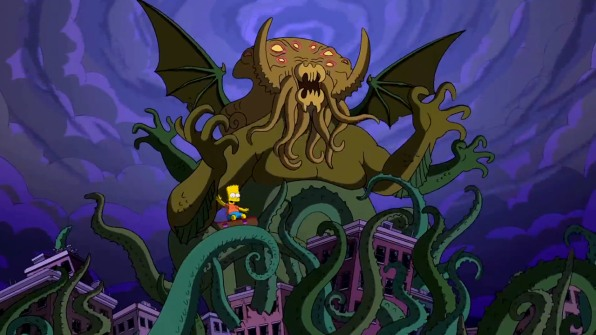Guillermo Del Toro S Couch Gag For The Simpsons Is A Monster It S A