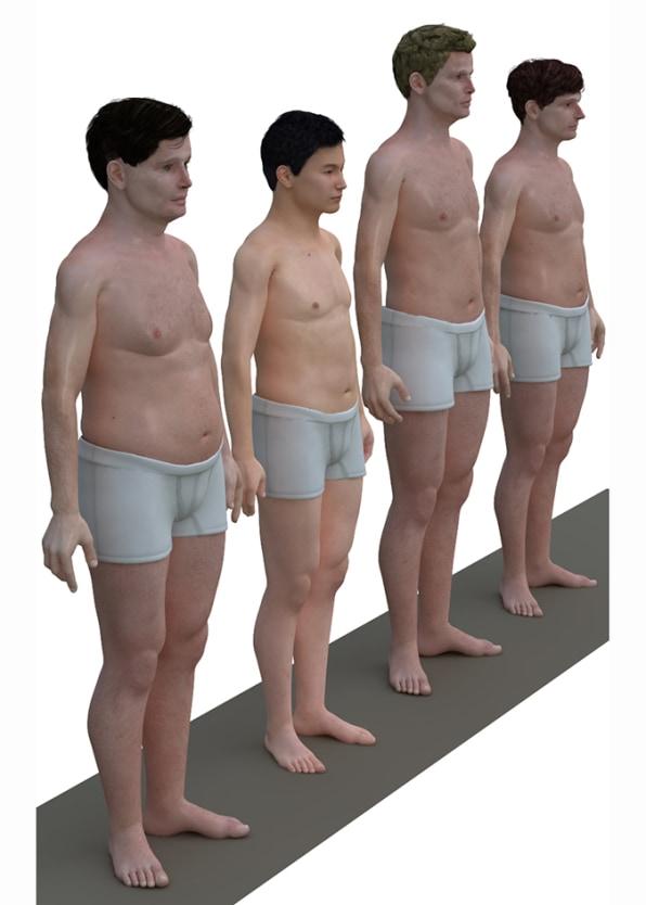 Brobesity? 3-D Avatars Of The Average Joe Are A Hefty Dose Of Reality