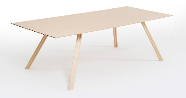 This Is The World's Lightest Wood Table