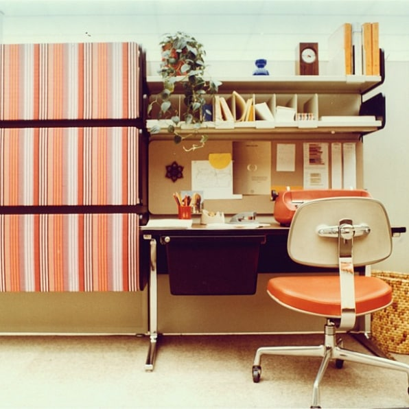11 Amazing Vintage Herman Miller Offices