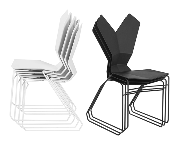 This Is The Playboy Bunny Of Stackable Chairs