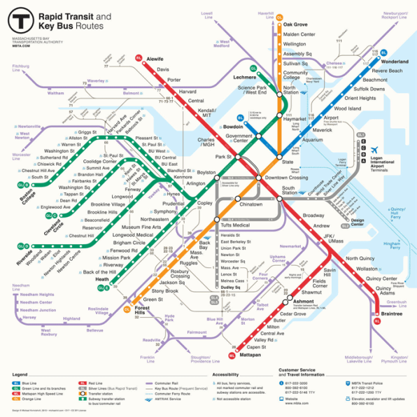 Subway Map Of The Brain.The Science Of A Great Subway Map