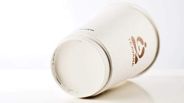 Starbucks Reinvents The Coffee Cup