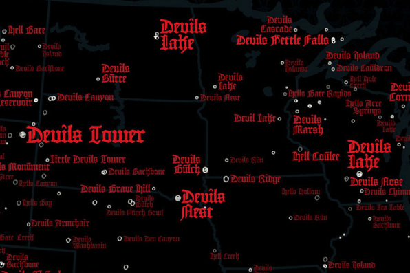 Infographic: A Map Of Hell On Earth