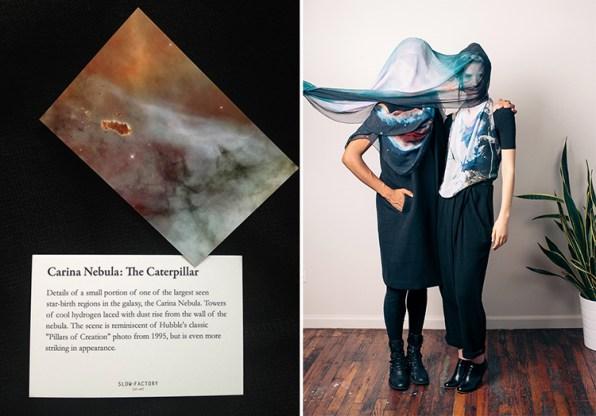Haute Fashion Developed From NASA Photographs