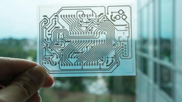 Hack Your Useless Inkjet To Print Electronics Circuits