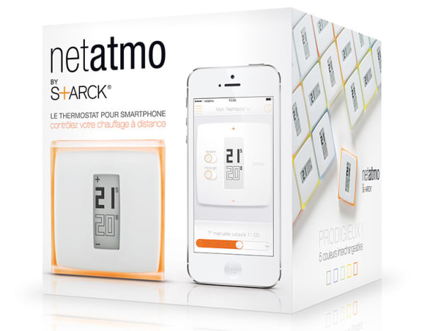 Check Out Philippe Starck's Glammy New Smart Thermostat