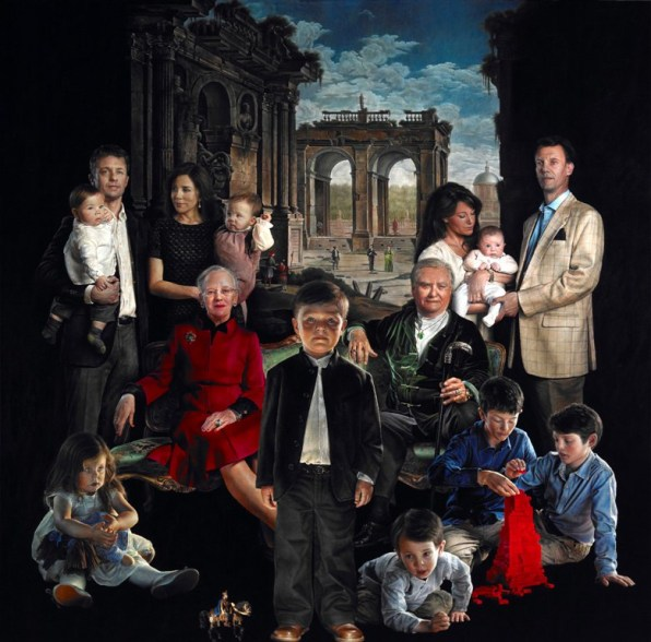 This Painting Of The Danish Royal Family Will Steal Your Soul