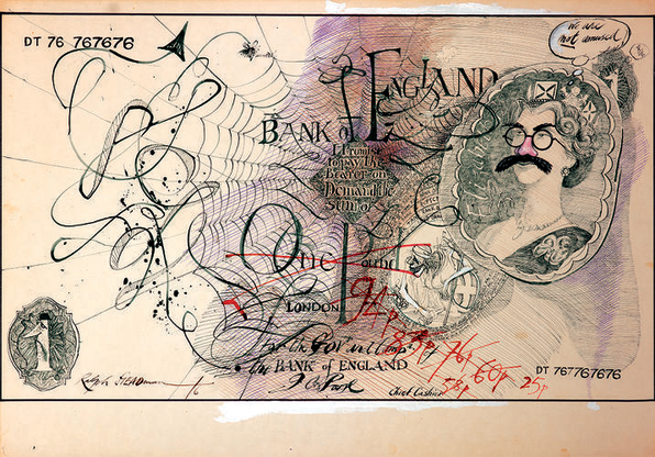 """Ralph Steadman, Gonzo Artist Behind """"Fear and Loathing In Las Vegas,"""" Is A Total Weirrdo"""