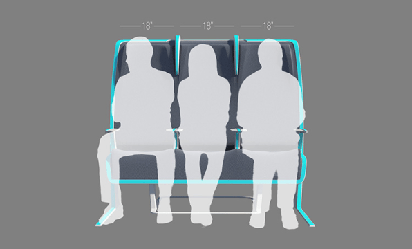 This Airplane Seat Shapeshifts To Your Body