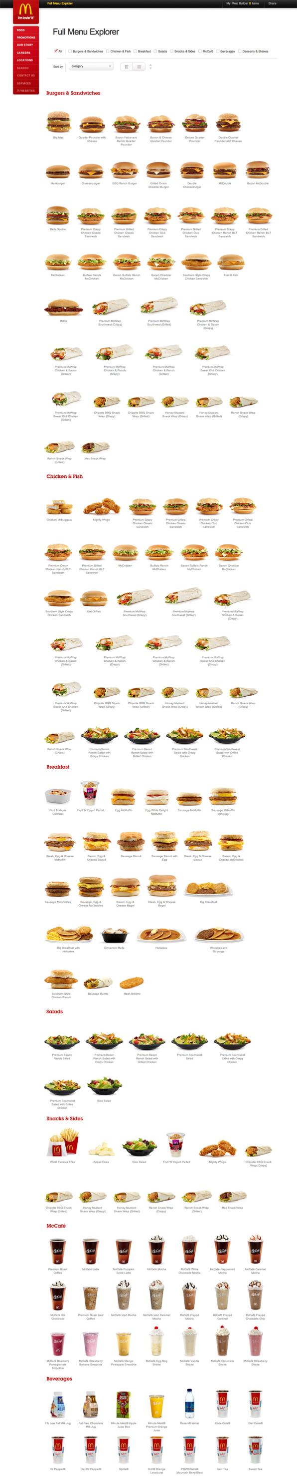 You've Never Seen A McDonald's Menu Look This Good