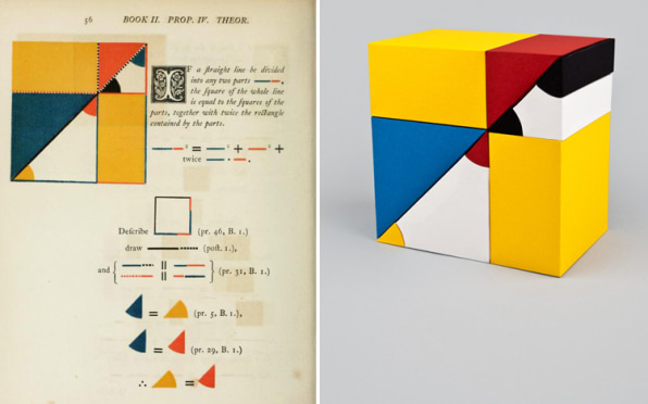 Euclidean Geometry Meets Mondrian In These Stunning 3-D Paper Sculptures