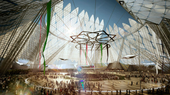 The 2020 World Expo Will Look Like A Crystal Palace From Space