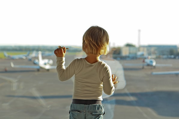 Flying With Kids? Hire A Flight Nanny