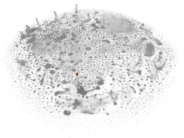 Infographic: If Social Networks Were Megacities