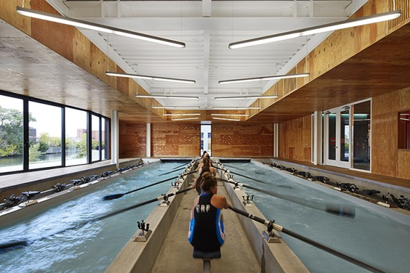 New Boathouse Looks Like A Time-Lapse Of Rowing