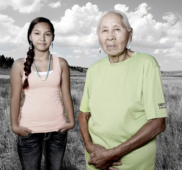 One Artist's Mission To Photograph Every Native American Tribe In The U.S.
