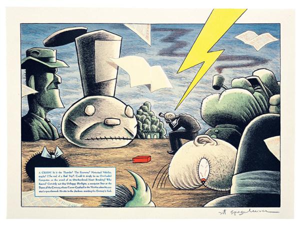 "Inside The Mind Of Art Spiegelman, The Creator Of ""Maus"""