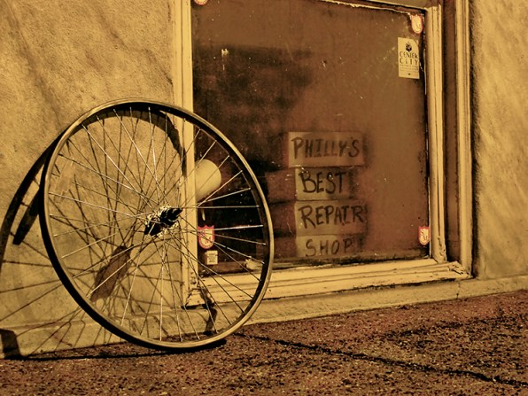These Photos Capture The Unnoticed Beauty Of A City's Ghostly Abandoned Bikes