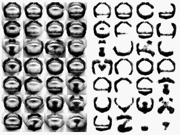 A Designer Shaves His Beard Into Every Letter Of The Alphabet