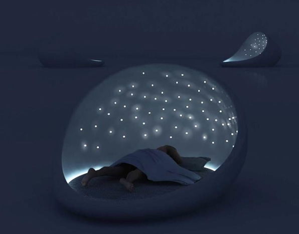 The Cosmos Bed Lets You Sleep Under A Starry Sky