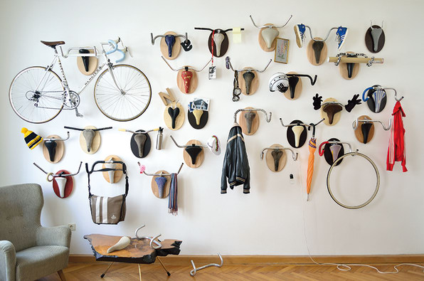 Most Hipsterrific Hunting Trophies Ever Have Handle Bars For Antlers