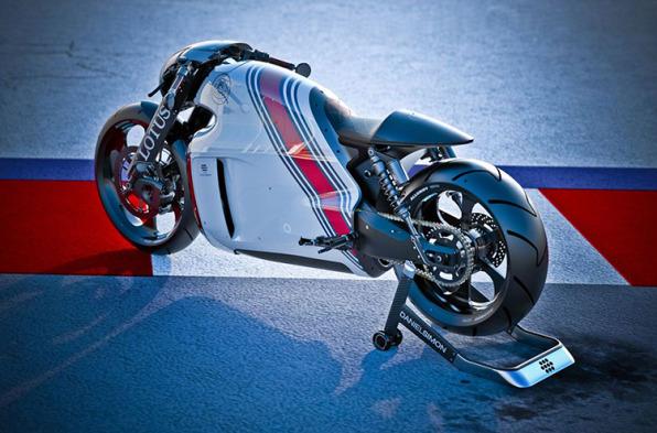 "Lotus Builds A Rad Superbike Evocative Of ""Tron"""