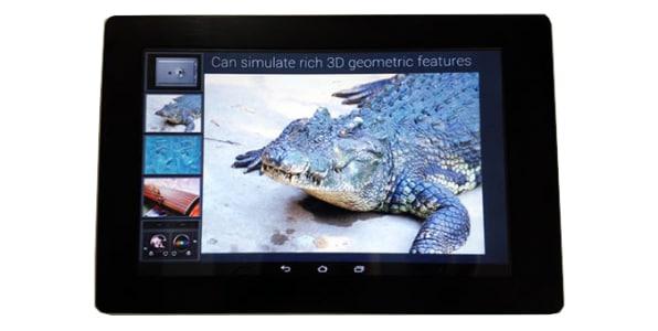 Fujitsu's Amazing Touch Screen Can Change How It Feels