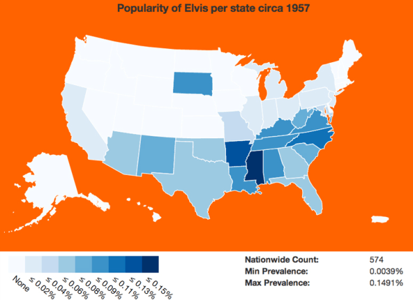 Track The Popularity Of Your Name Over The Past Century