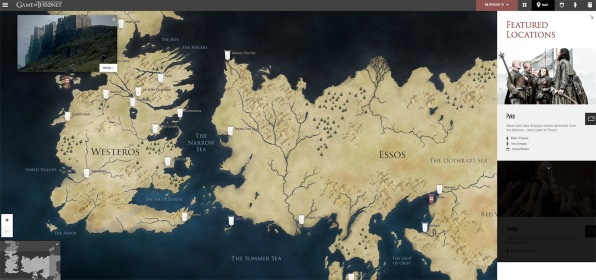 The ultimate game of thrones viewers guide explains all the people features an interactive map gumiabroncs Gallery