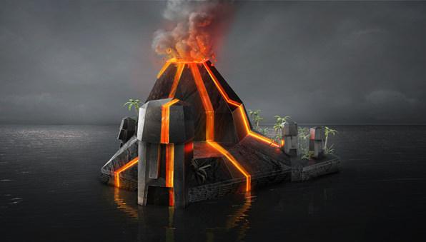 Artist Imagines What Phantom Islands Might Look Like