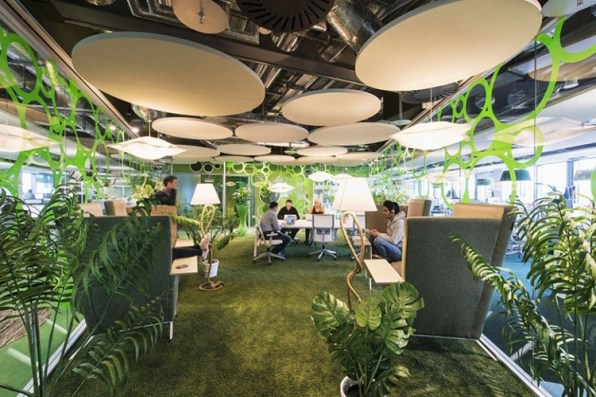 8 Of Googles Craziest Offices