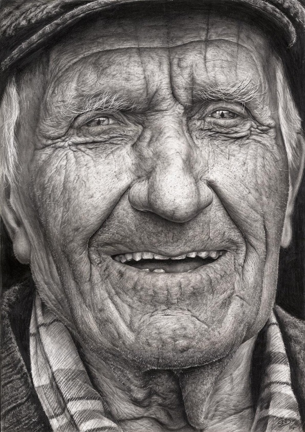 This Stunning, Ultra-Realistic Portrait Is The Work Of A 16-Year-Old