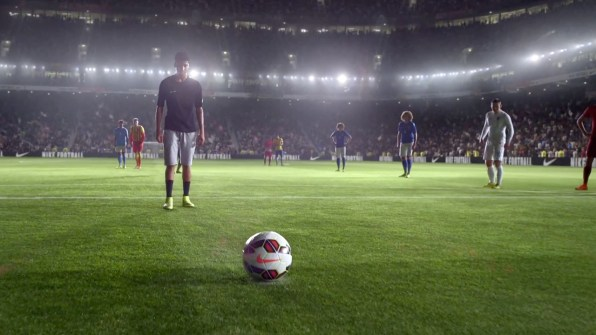 """new concept 00135 96cbb With moments like Iniesto the mailman and """"Zlatan think Zlatan should take  this,"""" it s a fun, adrenaline-filled hype session that will get Nike the  buzz of ..."""