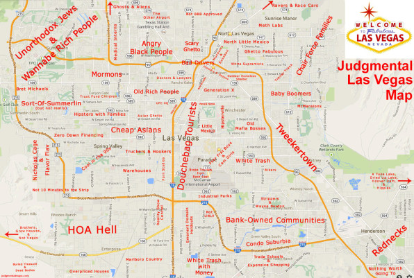 Judgy Maps Divide Neighborhoods Into Their Worst Stereotypes on