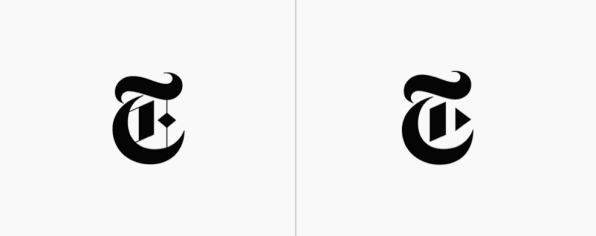 The New York Times Logo Gets A Clever Revamp