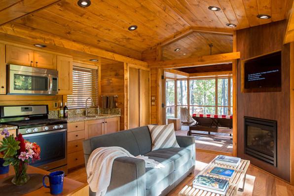 This Adorable Cabin Has A Secret–It's Actually An RV