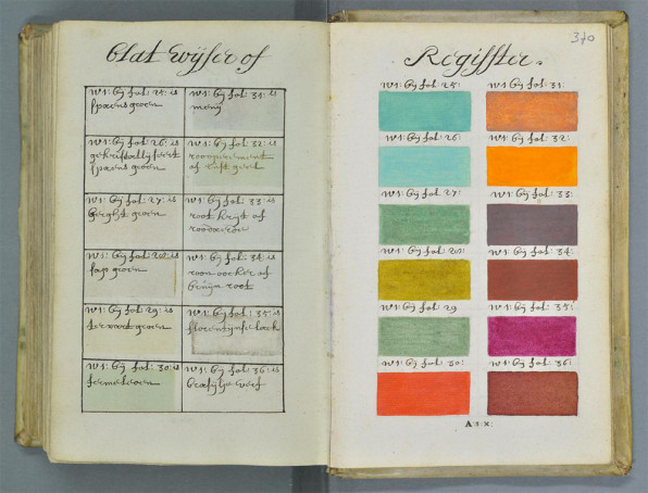 17th Century Color Manual Finally Gets Its Due