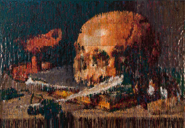 bubble wrap and algorithms riffing on famous paintings