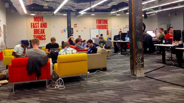Inside Facebook's New Grown-Up Hackathons