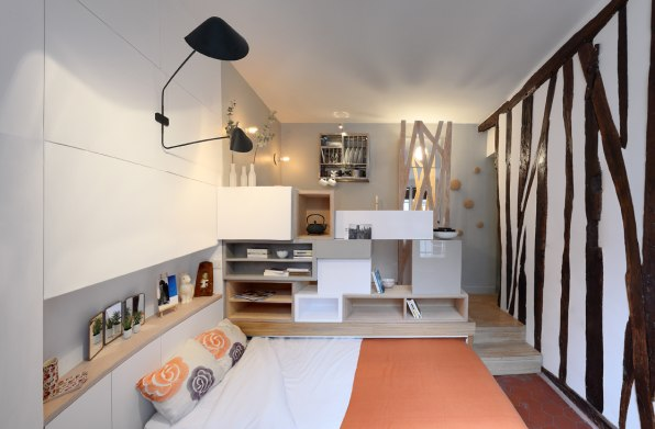 What Life Is Like Inside A 129-Square-Foot Apartment